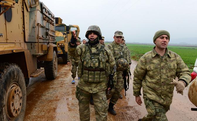 Сирия: Русский спецназ рискует нарваться на янычар Эрдогана