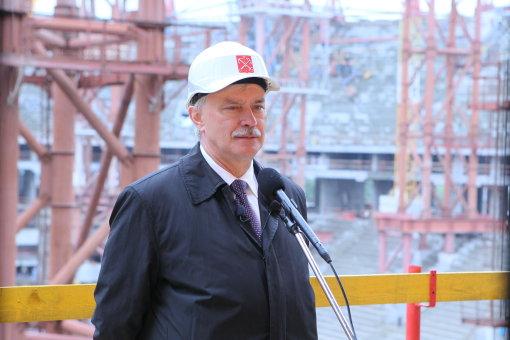 Полтавченко: Переброска денег со школ и больниц на стадион - абсолютно техническое действие