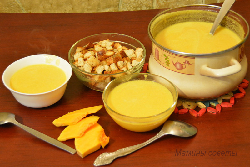 Суп-пюре из тыквы – нет ниче…