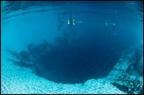 Синяя дыра Деана синяя дыра, удивительное, природа