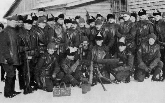 Как американцы в 1918 году оккупировали север России