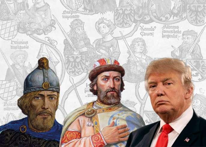 Дональд Трамп – потомок Рюри…