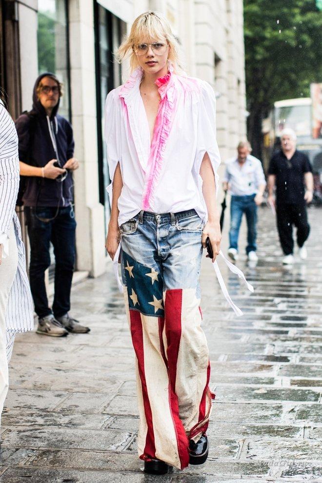 Неделя высокой моды в Париже осень-зима 2017-2018: уличный стиль