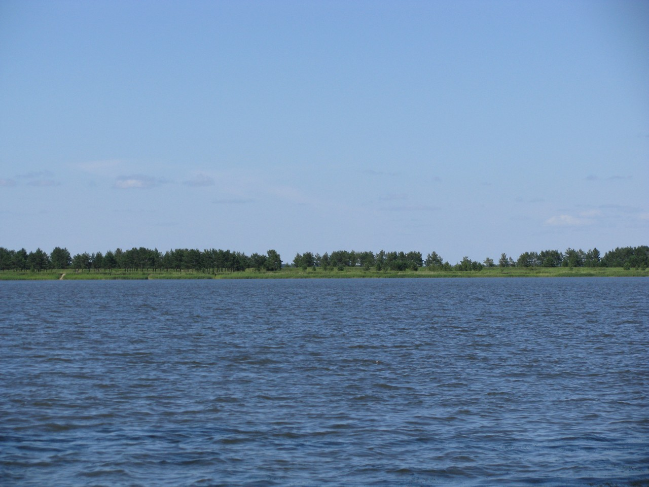 Заповедная Россия - озеро Горькое.
