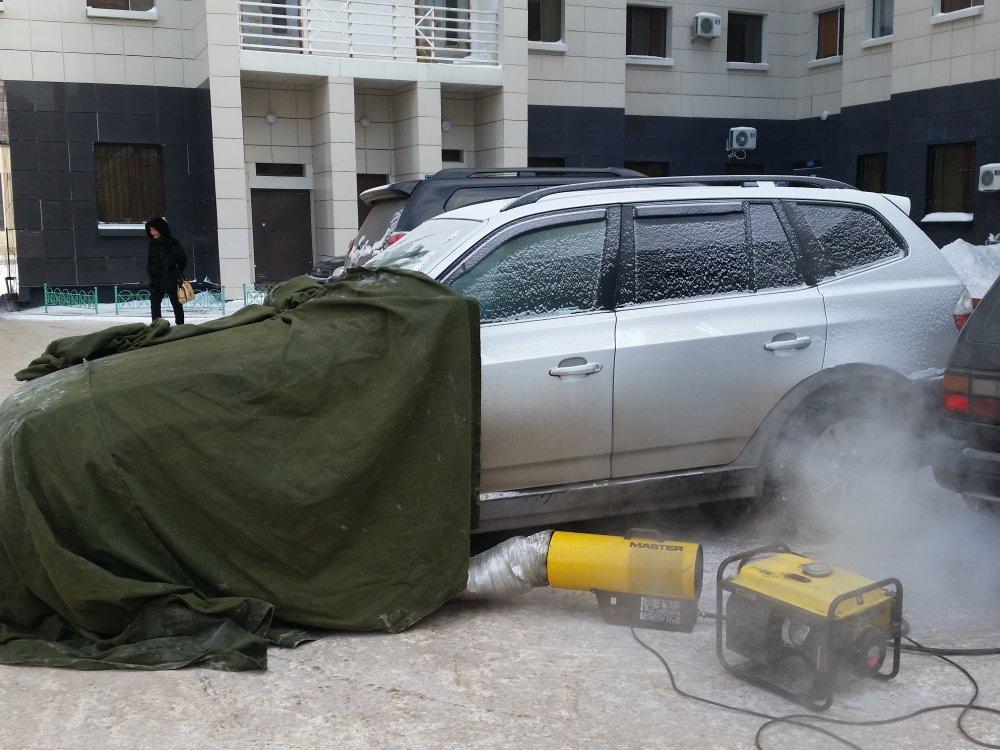 Как завести машину в мороз? Полезные советы