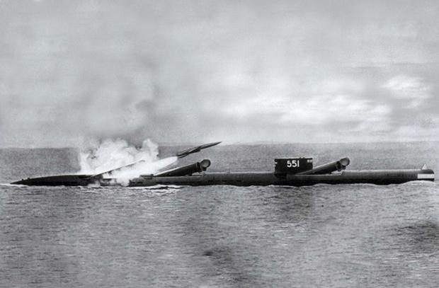 П-5 — первая морская крылатая ракета России