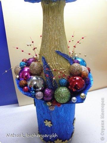 Декор предметов Мастер-класс Новый год Моделирование конструирование новогоднее дефиле + мк Бумага гофрированная фото 21
