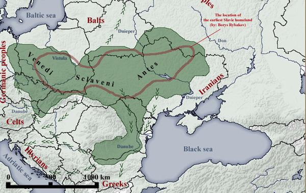 Признаки схожести венедов и славян. Болгарский праздник встречи весны. (2 статьи)