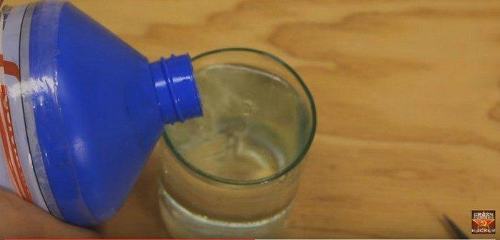 Как сделать фитиль горящий в воде