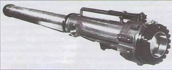 Проект штурмовой огнемётной машины ВНИИ-100