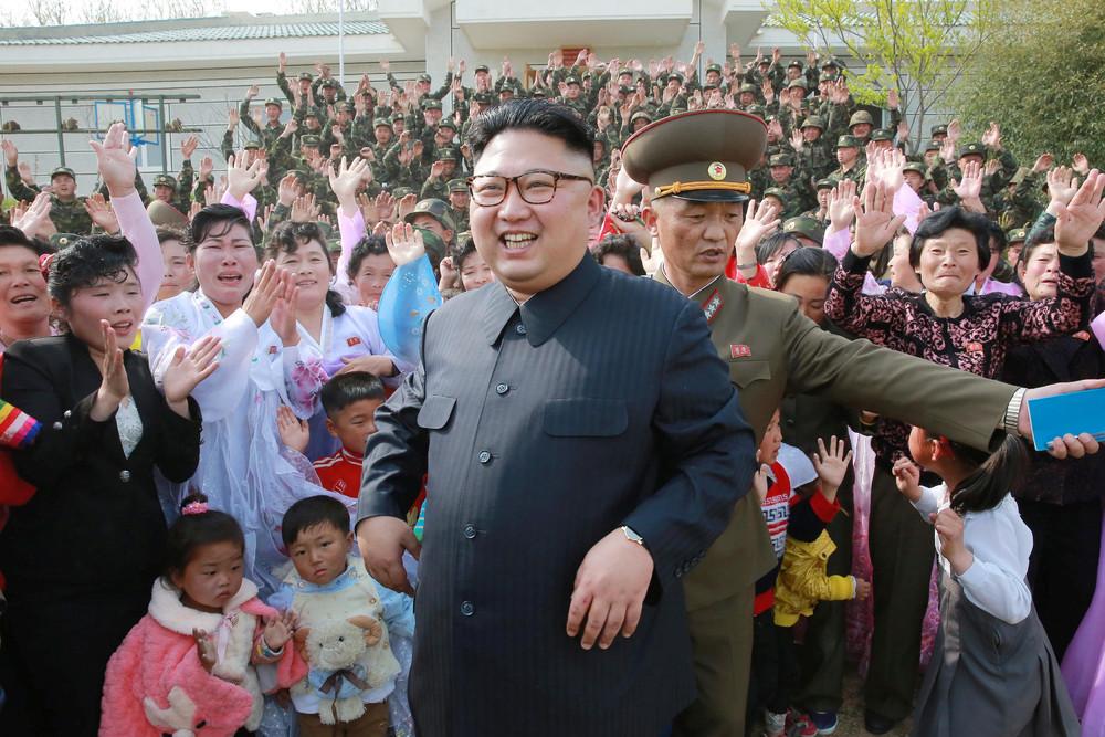 Интересные фотографии жизни людей в Пхеньяне