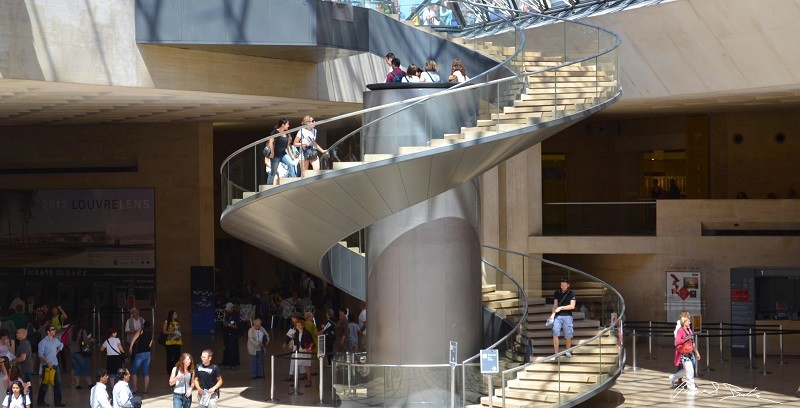 3. Louvre, Франция история, лифт, мир, необычно, путешествия, факты
