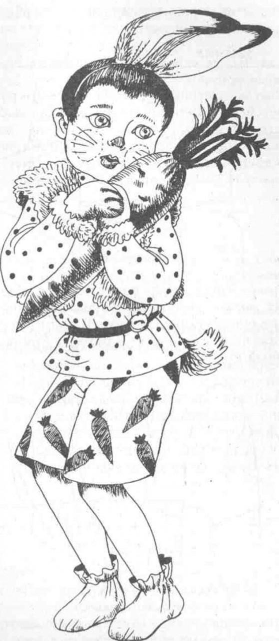 Карнавальный новогодний костюм - Заяц - Кролик