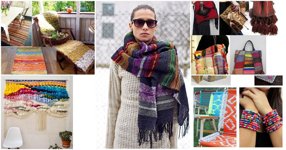 Для дома и на выход: ручное ткачество