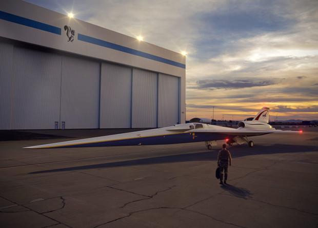 Началось производство «тихого» сверхзвукового самолета