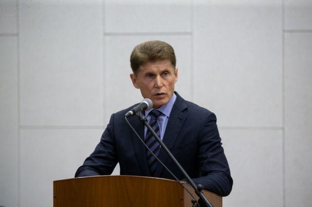 Кожемяко лидирует на выборах в Приморье после подсчета более 50% бюллетеней