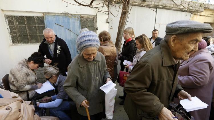 Кабмин Украины: В невыплате пенсий жителям Донбасса виновата Россия