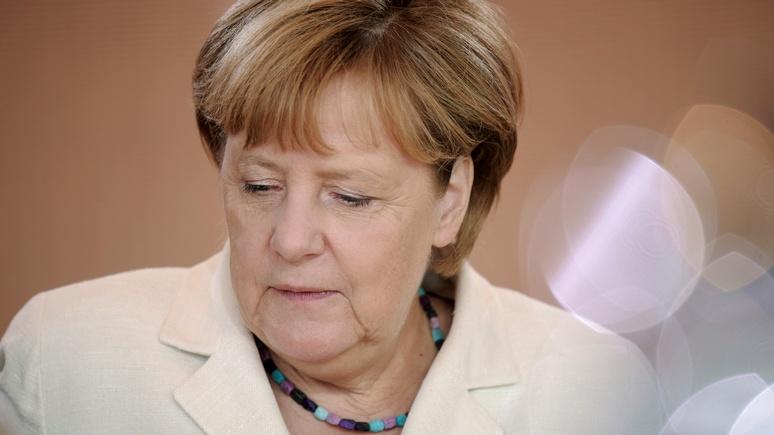 Zeit: Меркель не может снять санкции из-за полчищ российских танков