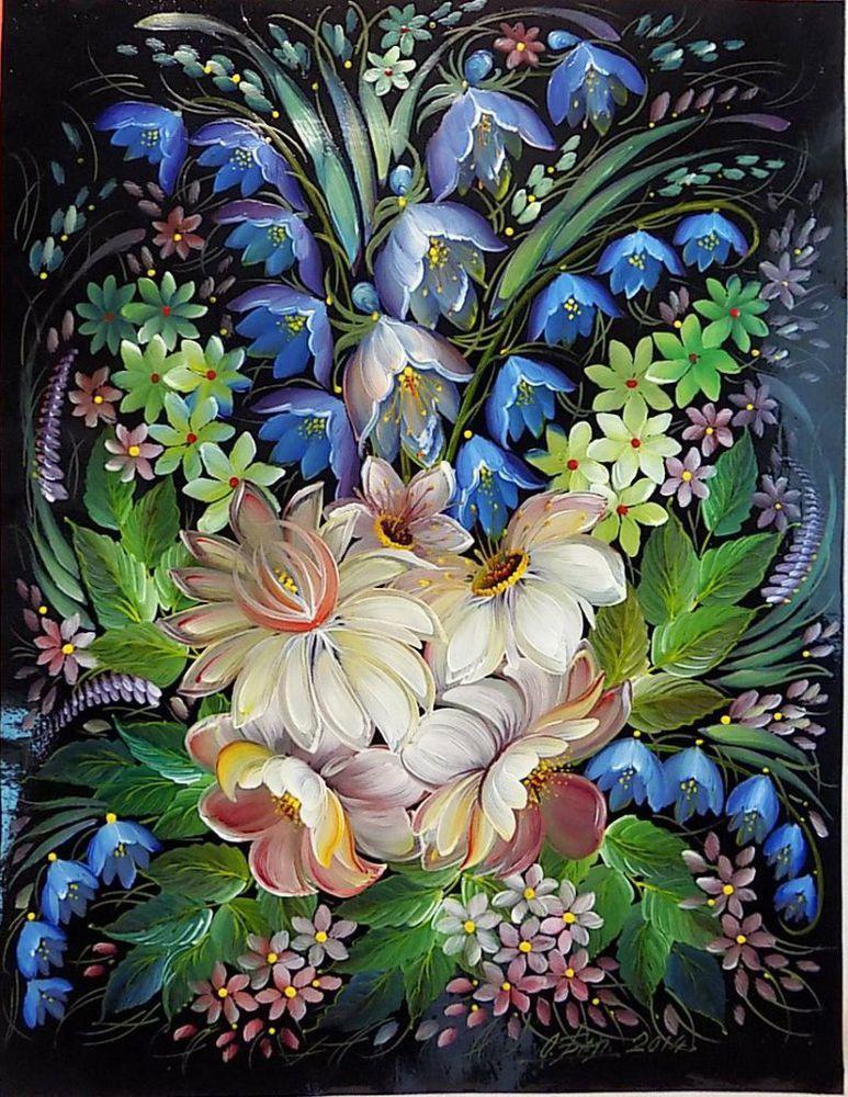 Шедевральная ручная роспись Ольги Балакиной