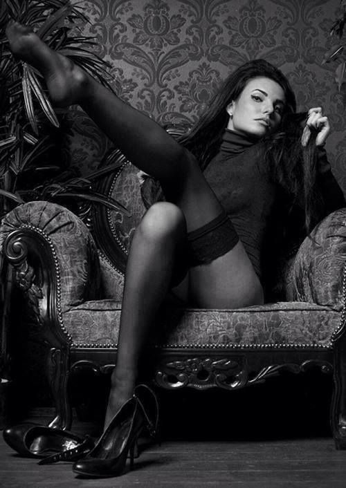 Женский соблазн и чёрно-белая фотография