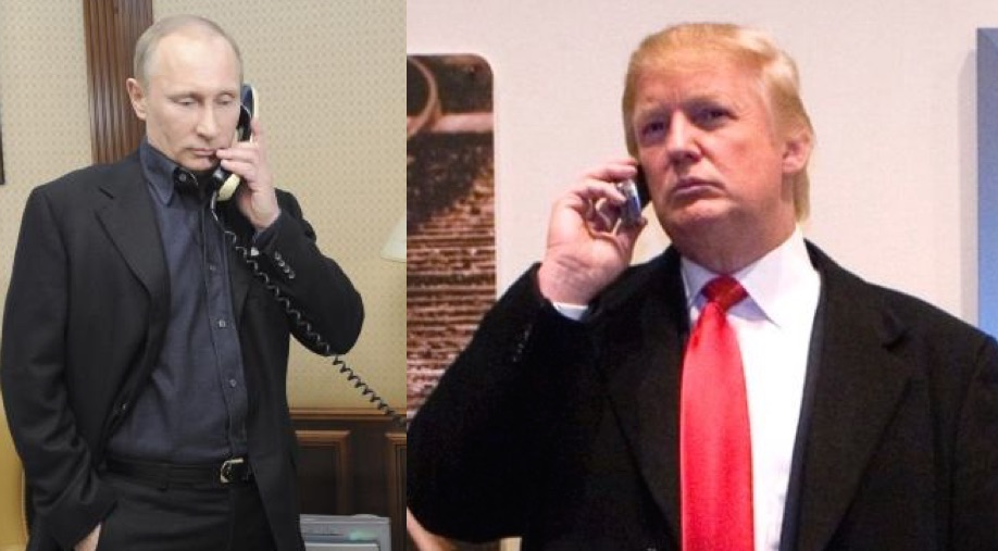 Двое на одного: Трамп боится беседовать с Путиным один на один