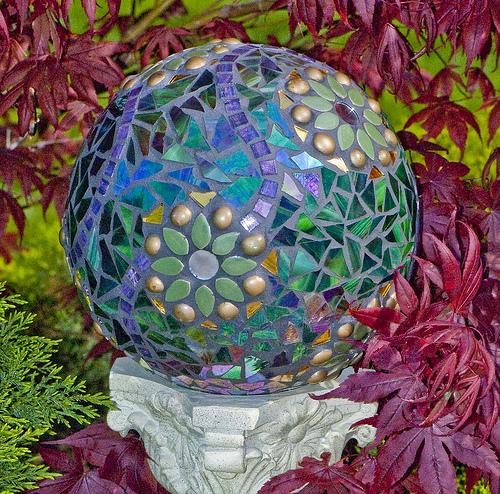 Декоративные шары своими руками фото