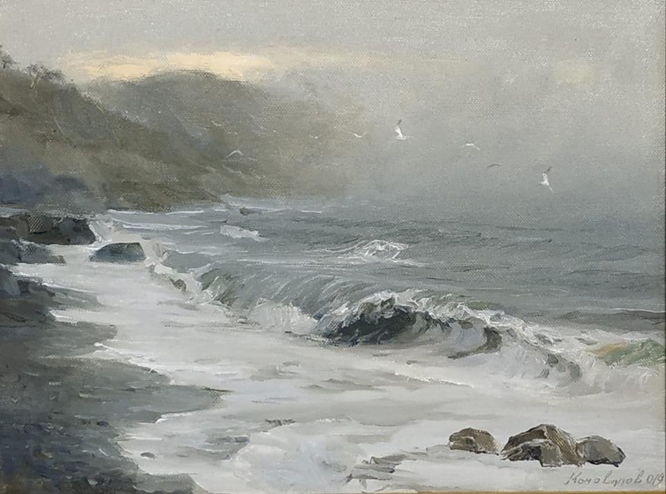 Морской пейзаж Сергей Коновалов г. Владивосток