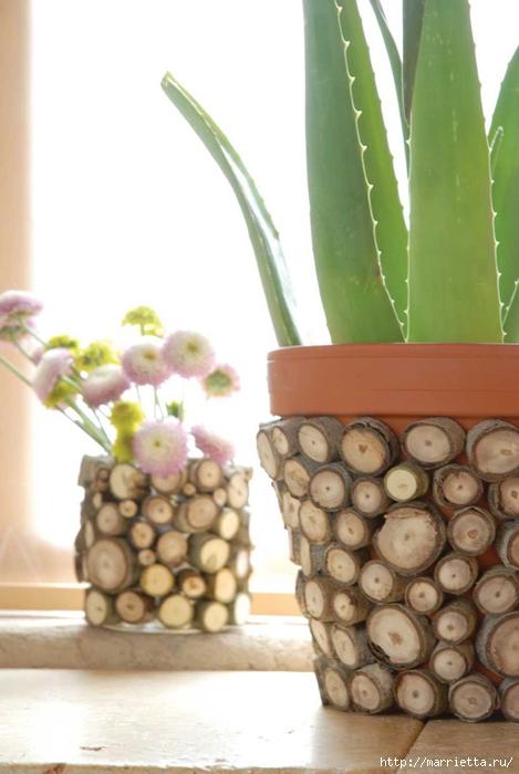 Варианты декорирования цветочных горшков (33) (469x700, 182Kb)