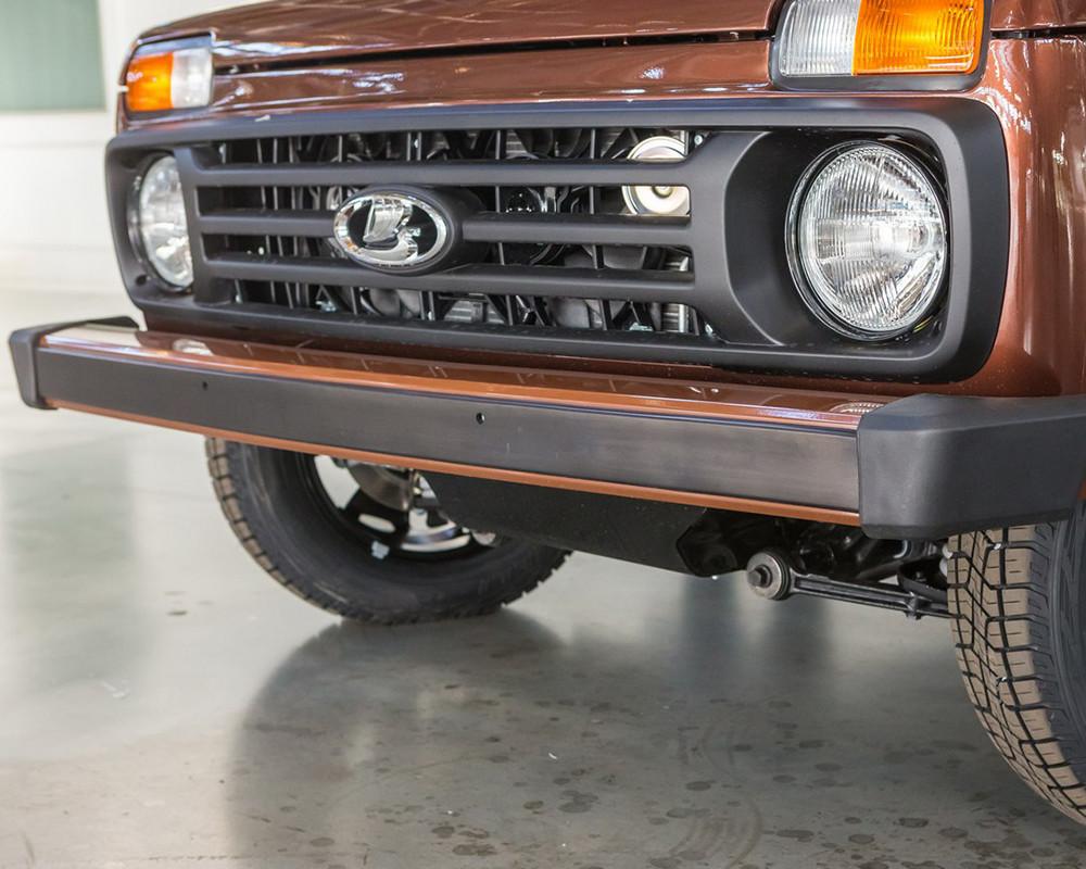 АВТОВАЗ показал новую Lada 4×4 40 Anniversary со всех сторон