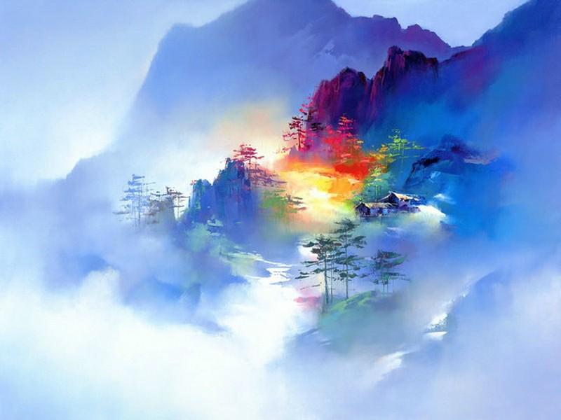 Творчество китайского художника Ken Hong Leung