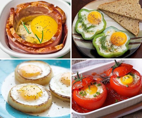 Готовим оригинальные яйца на завтрак