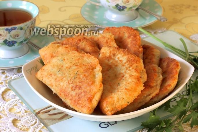 Сырные пирожки с мясом жареные