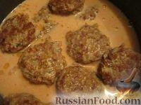 """Фото приготовления рецепта: Мясные """"Ежики"""" - шаг №9"""