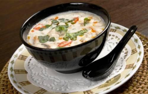 Суп с кокосовым молоком – игра вкуса!