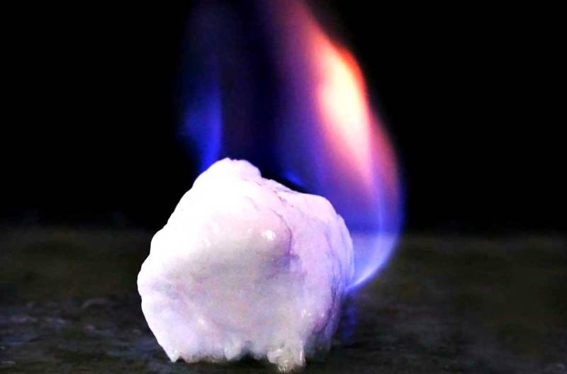 «Горючий лед» заменит газ и уголь?