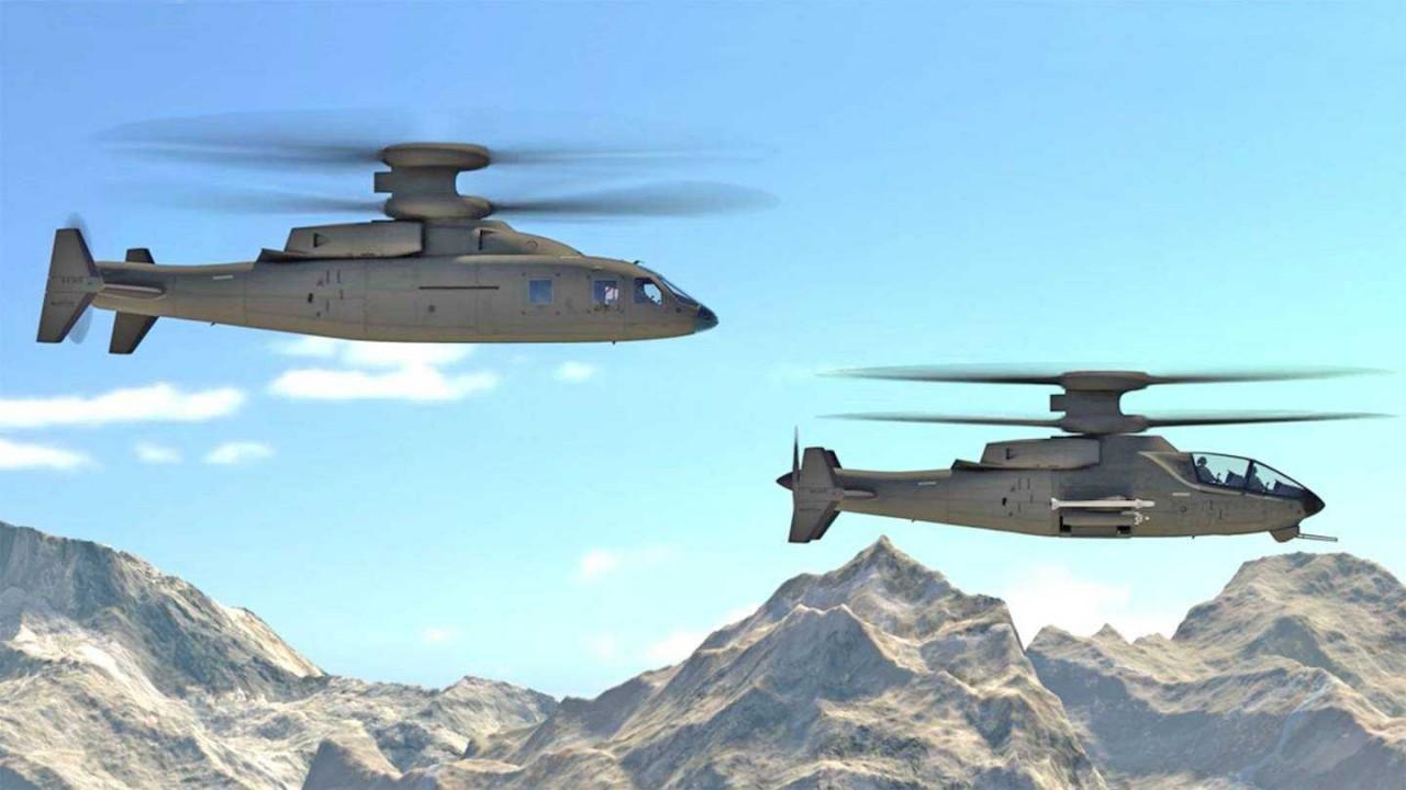 Американцы показали ударный вертолет будущего
