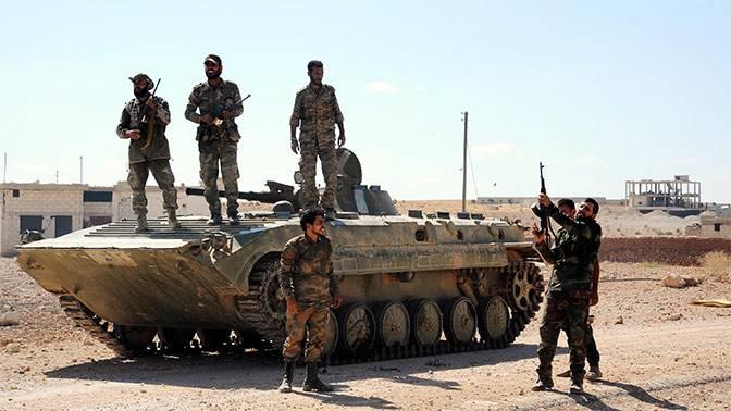 Как сирийская армия сломила сопротивление террористов в Эль-Маядине