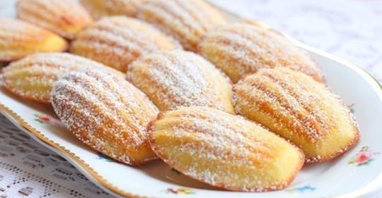 Вкусное домашнее печенье «Мадлен» всего за 15 минут