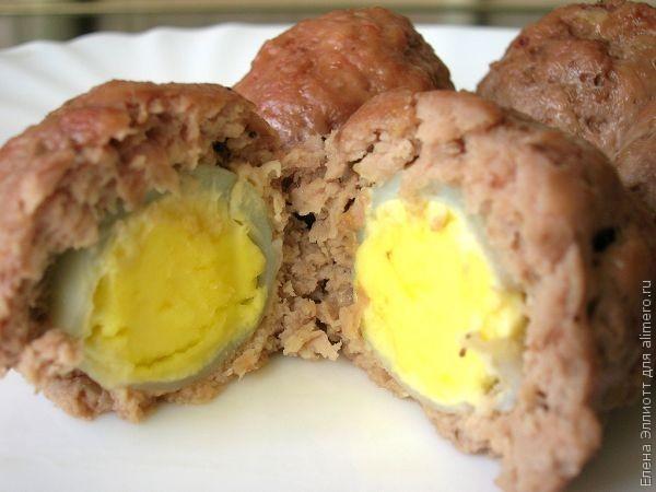 Мини-зразы с перепелиными яйцами