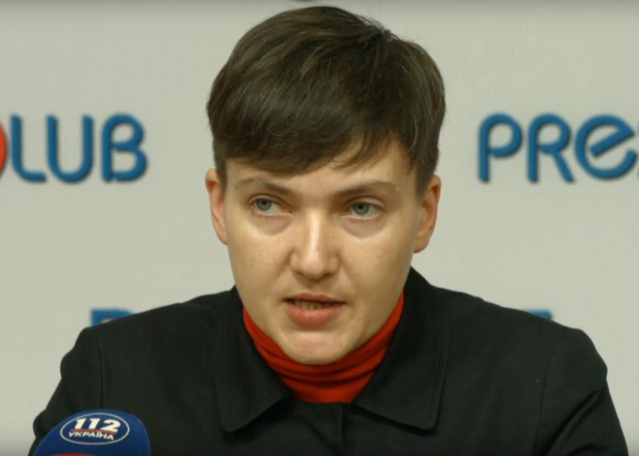 Савченко обещает выкинуть Россию из Донбасса