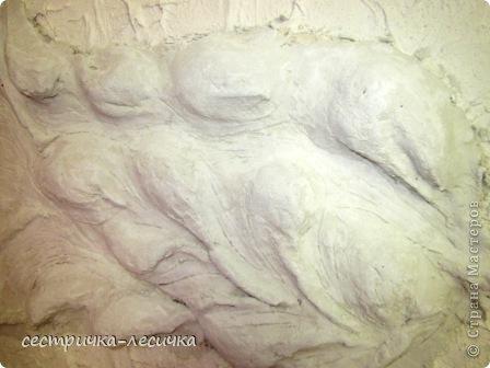 Интерьер Мастер-класс Лепка Лепка на стене №2 Бумага Гипс Краска фото 16