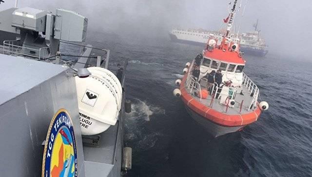 """Минобороны РФ: Все спецоборудование с затонувшего разведывательного судна """"Лиман"""" эвакуировано"""