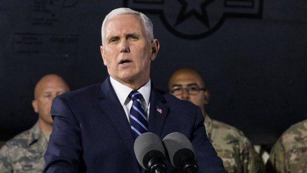 Всадник Апокалипсиса? Вице-президент США не пошёл в Храм Гроба Господня