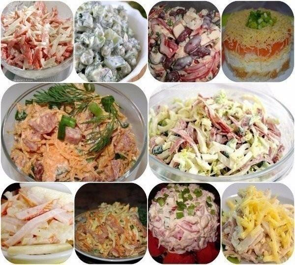 ТОП-10 самых быстрых салатов!