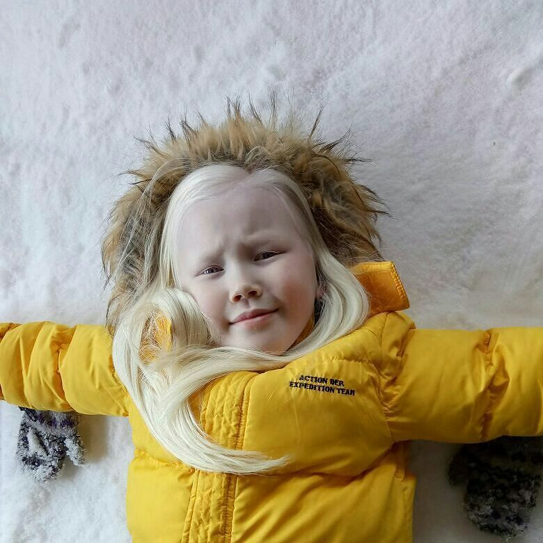 Сибирская Белоснежка потрясла интернет и мир моды