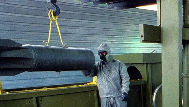 В Кизнере уничтожат оставшийся 1% химоружия РФ