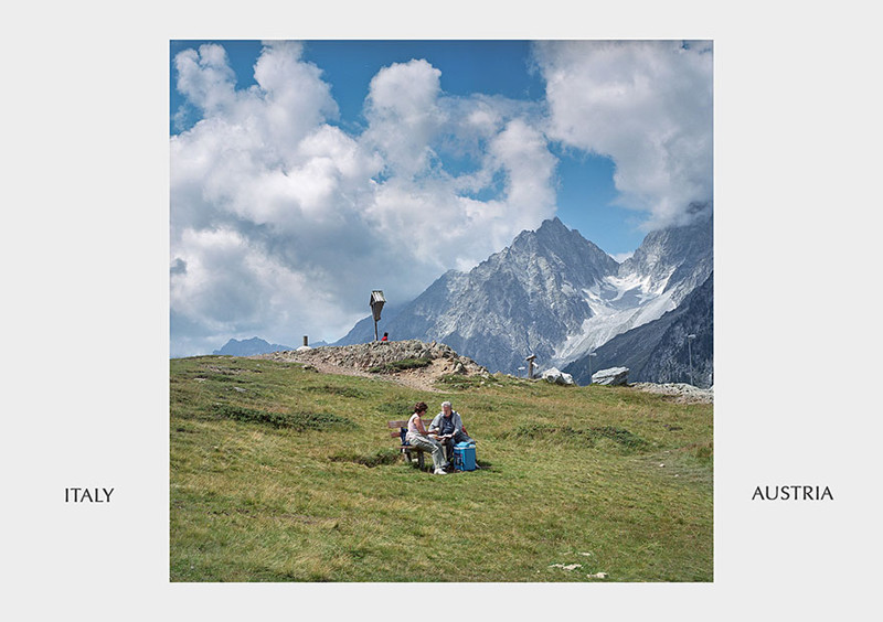 Италия - Австрия граница, страна