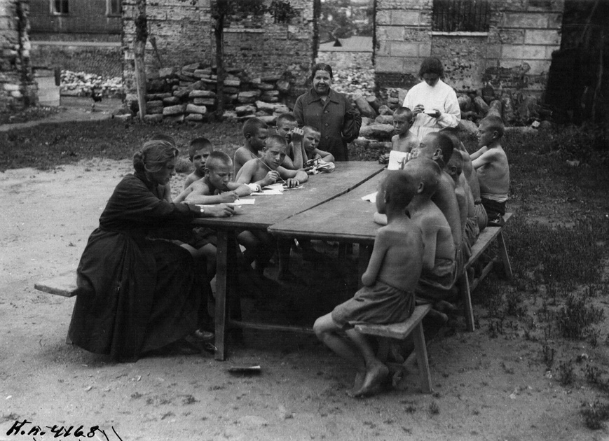 waif10 Советские беспризорники 1920 х годов