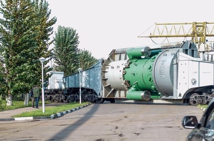 «Атомэнергомаш» отправил в Санкт-Петербург второй реактор «РИТМ-200» для нового ледокола «Сибирь»