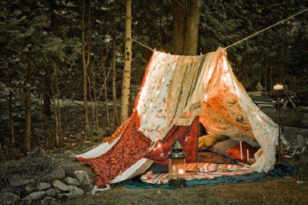 Как сделать палатку в домашних условиях для зимней рыбалки